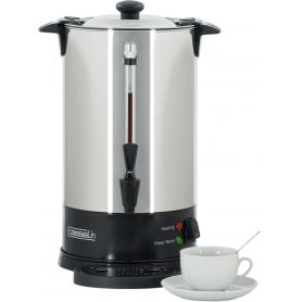 Percolateur à café - 8.8 L - 60 tasses - paroi simple - inox