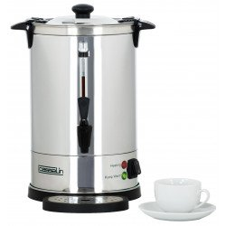 Percolateur à café - 6.8 L - 48 tasses - double paroi - inox CASSELIN Percolateurs à café
