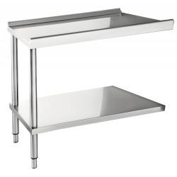 Table d'entrée / sortie pour lave-vaisselle 1200 mm