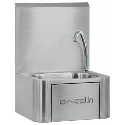 Lave-mains à commande fémorale - inox