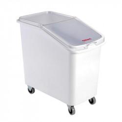 Bac 100 Litres à ingrédients empilable - chape inox Gilac Bacs de transport
