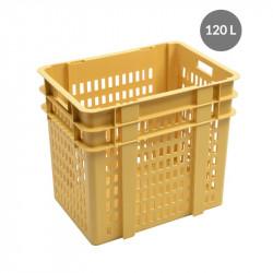 Manne à pain compacte 120 Litres - beige