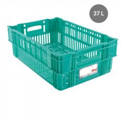Caisse liaison froide 37 L - vert Gilac Bacs métiers