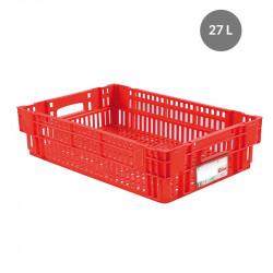 Caisse liaison froide 27 L - rouge Gilac Bacs métiers