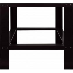Piètement en tôle epoxy noir pour four à pizza ref : 366-1020 EQUIPEMENT DIRECT Accessoires et pièces détachées