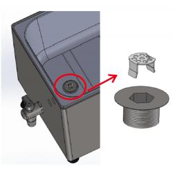 Filtre de vanne de vidange CASSELIN Accessoires et pièces détachées