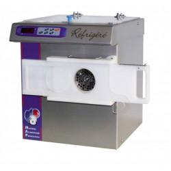 Hachoir réfrigéré 400 V compact - 1405 W - 350 Kg / h - inox