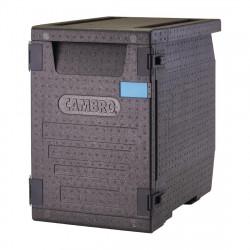 Conteneur 86 litres - 4 bac GN 1/1 prof. 100 mm + ouverture sur le dessus - Cambro