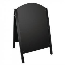 Panneau de trottoir - Surface : 900 x 600 mm - structure métallique noir - Olympia OLYMPIA Panneaux et ardoises
