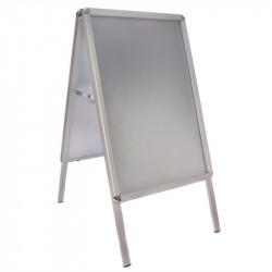 Panneau aluminium - surface : A2, gris métal - aluminium EQUIPEMENT DIRECT Panneaux et ardoises