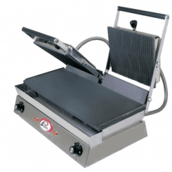 Grill double lisse Spécial grillades - 230 V, 4400 W Sofraca Paninis