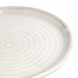 Lot de 6 assiettes plates Ø 180 mm, blanc Murano - CANVAS OLYMPIA Collection Canvas