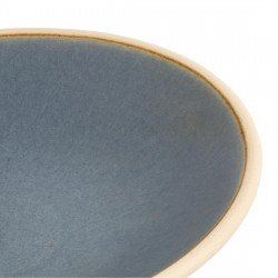 Lot de 6 assiettes creuses Ø 200 mm, bleu granit - CANVAS OLYMPIA Collection Canvas