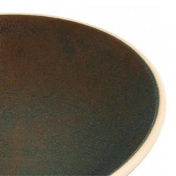 Lot de 6 assiettes creuses Ø 200 mm, vert bronze - CANVAS OLYMPIA Collection Canvas