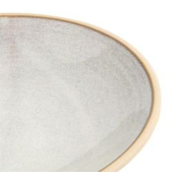 Lot de 6 assiettes creuses Ø 200 mm, blanc Murano - CANVAS OLYMPIA Collection Canvas