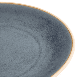 Lot de 6 assiettes coupes Ø 270 mm, bleu granit - CANVAS OLYMPIA Collection Canvas