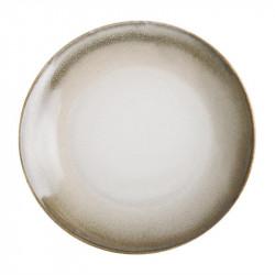Lot de 6 assiettes plates Ø 205 mm, sable - BIRCH OLYMPIA Collection Birch