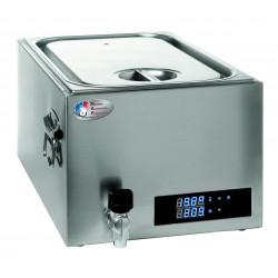 Cuiseur 20 Litres basse température - cuve GN 1/1 - inox  MATERIEL ALIMENTAIRE PRODUCTION Cuisson sous-vide