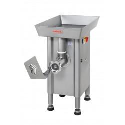 Hachoir double sur socle + protection - 400 V - 3700 W - 1150 Kg / h - inox  MATERIEL ALIMENTAIRE PRODUCTION Hachoirs