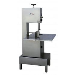 Grande scie à os sur piètement - 400 V - 1500 W - Surface coupe : L 650 x P 710 x H 320 mm - inox MATERIEL ALIMENTAIRE PRODUC...