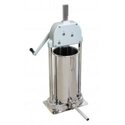Poussoir manuel 12 Litres - 4 canules Ø 16 / 22 / 32 mm - inox  MATERIEL ALIMENTAIRE PRODUCTION Poussoirs à saucisses