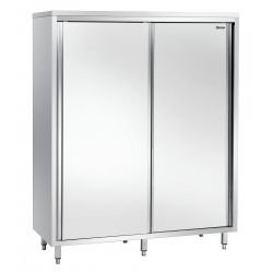 Armoire haute L 1600 x P 700 mm - 2 portes - inox Bartscher Armoires Hautes