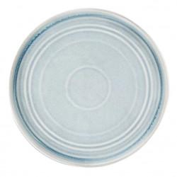 Lot de 6 assiettes plates Ø 270 mm, bleu crystallin - cavolo OLYMPIA Collection Cavolo