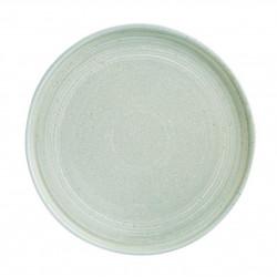 Lot de 4 assiettes plates Ø 270 mm, vert printanier - cavolo OLYMPIA Collection Cavolo