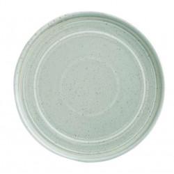 Lot de 6 assiettes plates Ø 220 mm, vert printanier - cavolo OLYMPIA Collection Cavolo