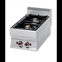 Cuisinière à gaz 2 feux à poser DIAMOND Fourneaux Gaz