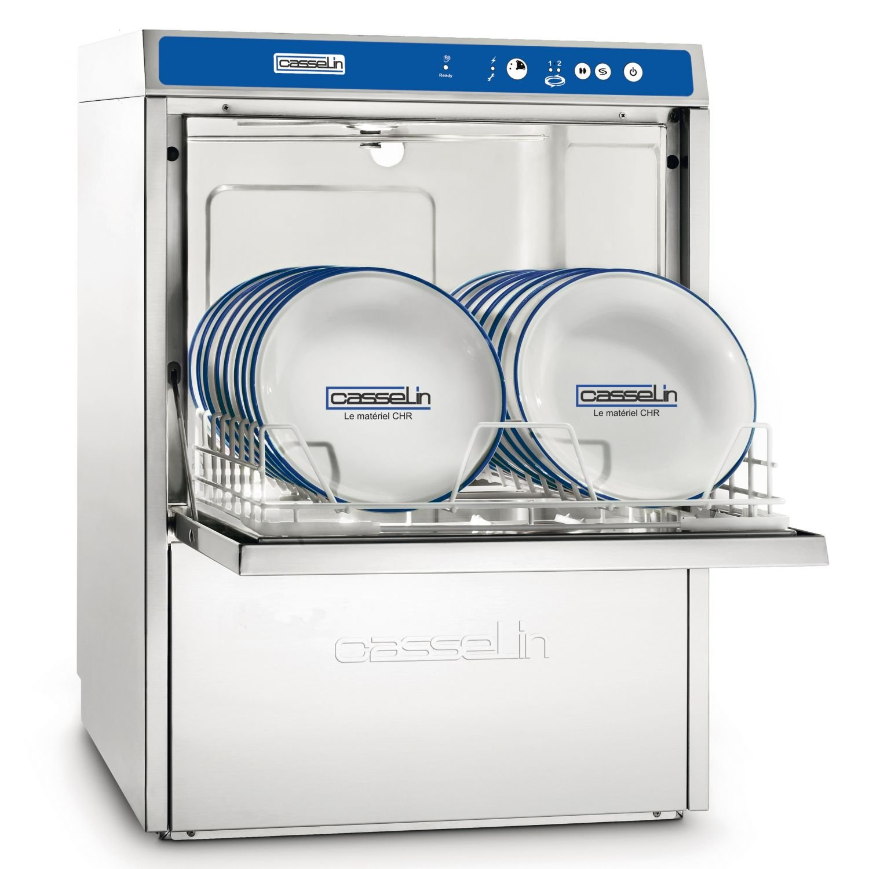 Lave-vaisselle Double paroi + adoucisseur + pompe de vidange intégrée