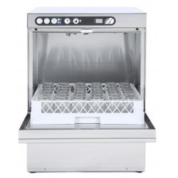 Lave-vaisselle 500 x 500 mm - vidange par gravité - inox  ADLER Laves-Vaisselles Pro