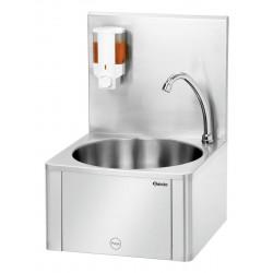 Lave-mains commande genoux et porte savon W10-KB Plus