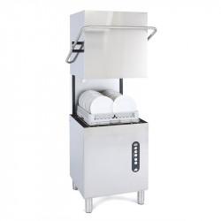 Lave-vaisselle à capot 500 x 500 mm - vidange par gravité - inox ADLER Laves-vaisselle à capot