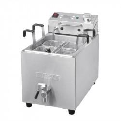 Cuiseur à pâtes 8L avec robinet et minuterie