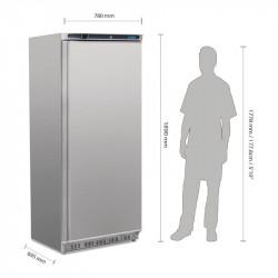 Armoire négative 600 Litres 1 porte inox POLAR Armoires négatives (-18°C-22°C)