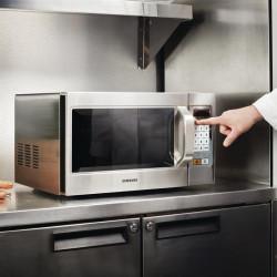 Micro-ondes 26 L programmable - 4 puissances - inox - Samsung