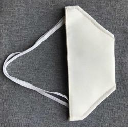 """Masque de protection """"canard"""" lavable catégorie 1 - Blanc"""
