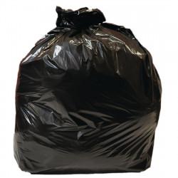 Lot de 10 sacs poubelle 90 L noirs - JANTEX