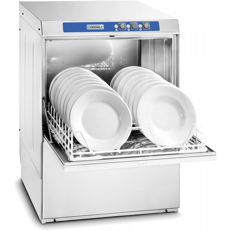 Lave-vaiselle 500 + adoucisseur + pompe de vidange intégrés CASSELIN Laves-Vaisselles Pro