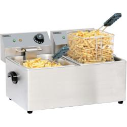 Friteuse électrique 2 x 8 litres CASSELIN Friteuses à poser