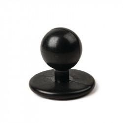 Boutons amovibles noirs de rechange (12 pces)