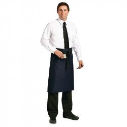 Tablier bistro 70x100cm (longueur) marine UNIFORM WORKS Tabliers