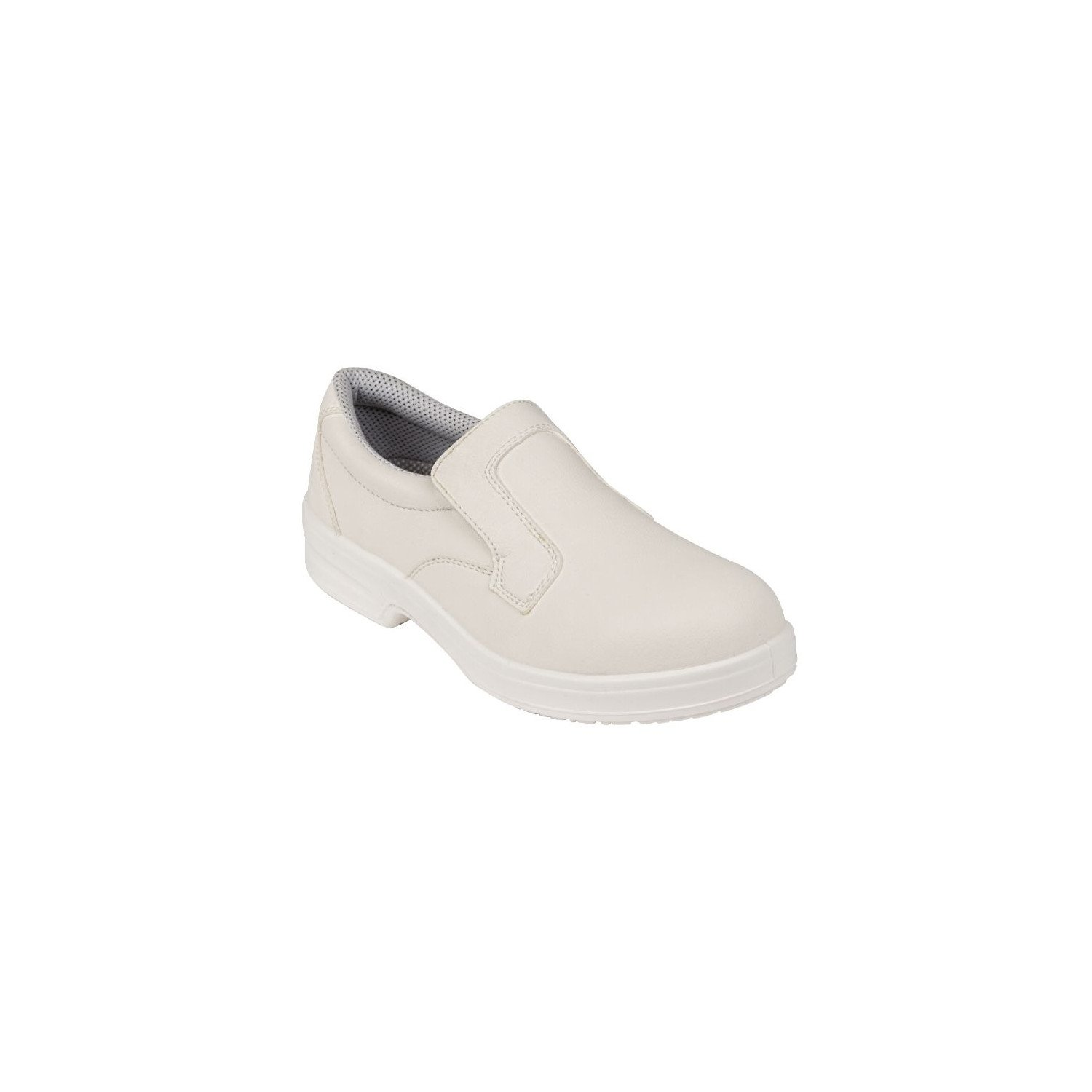 Mocassins imperméables/lavables blancs T.40 LITES SAFETY FOOTWEAR Nisbets Vêtements