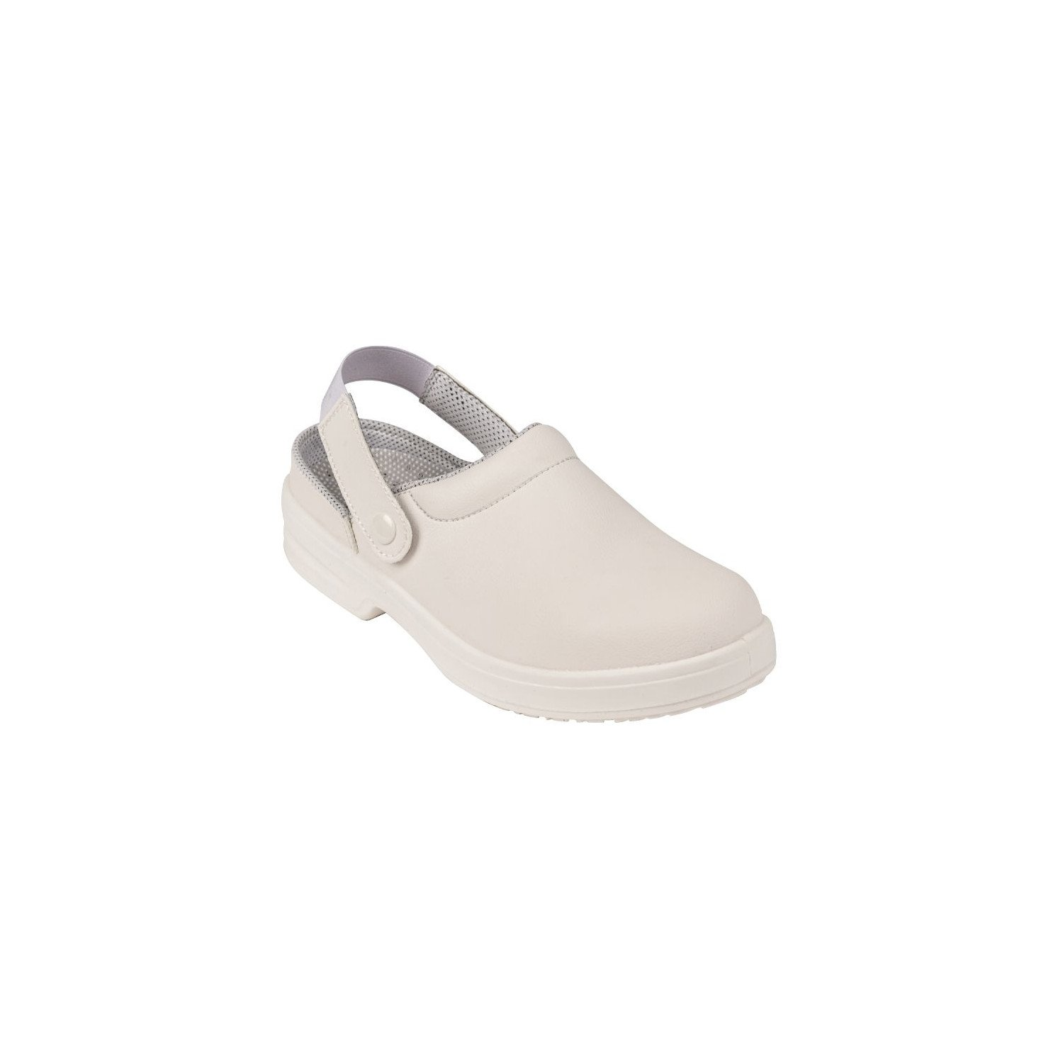 Sabots de sécurité unisexes Lites Blancs - Pointure 44 LITES SAFETY FOOTWEAR Nisbets Vêtements