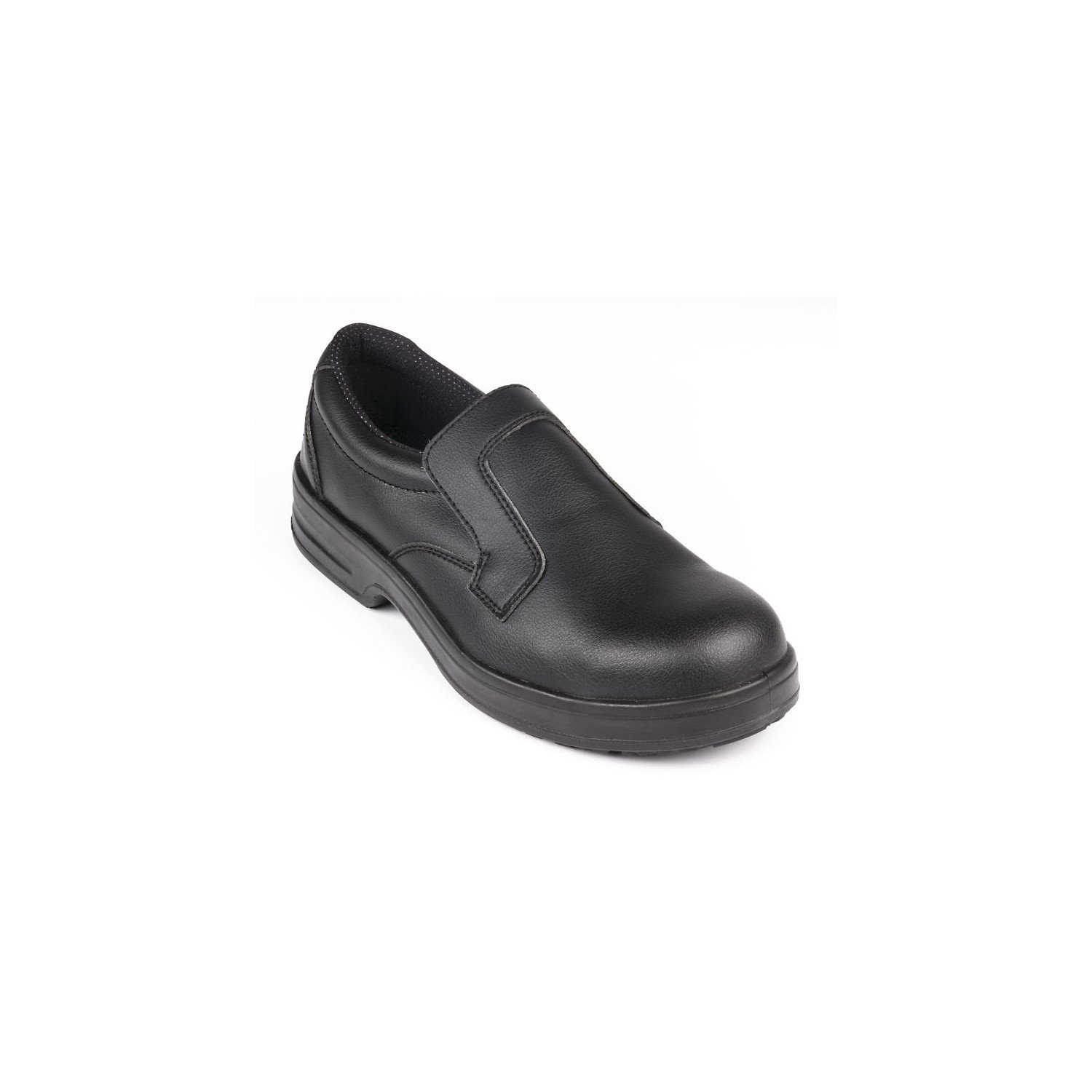 Mocassins imperméables/lavables noirs T.46 LITES SAFETY FOOTWEAR Nisbets Vêtements