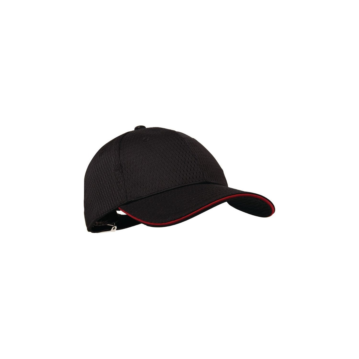 Casquette Cool Vent baseball Chef Works rouge taille unique COLOUR BY CHEF WORKS Nisbets Vêtements