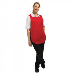 Tablier chasuble Rouge - Taille L