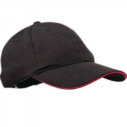 Casquette Cool Vent baseball Chef Works rose taille unique