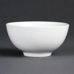 Bol à riz porcelaine blanche 13cm (12 pces)